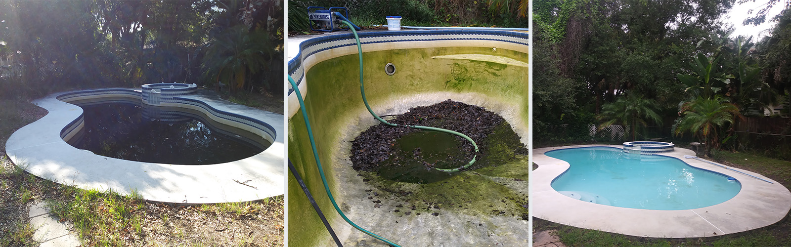 Green Pool Cleanup All Clear Pool Services Amp Supplies